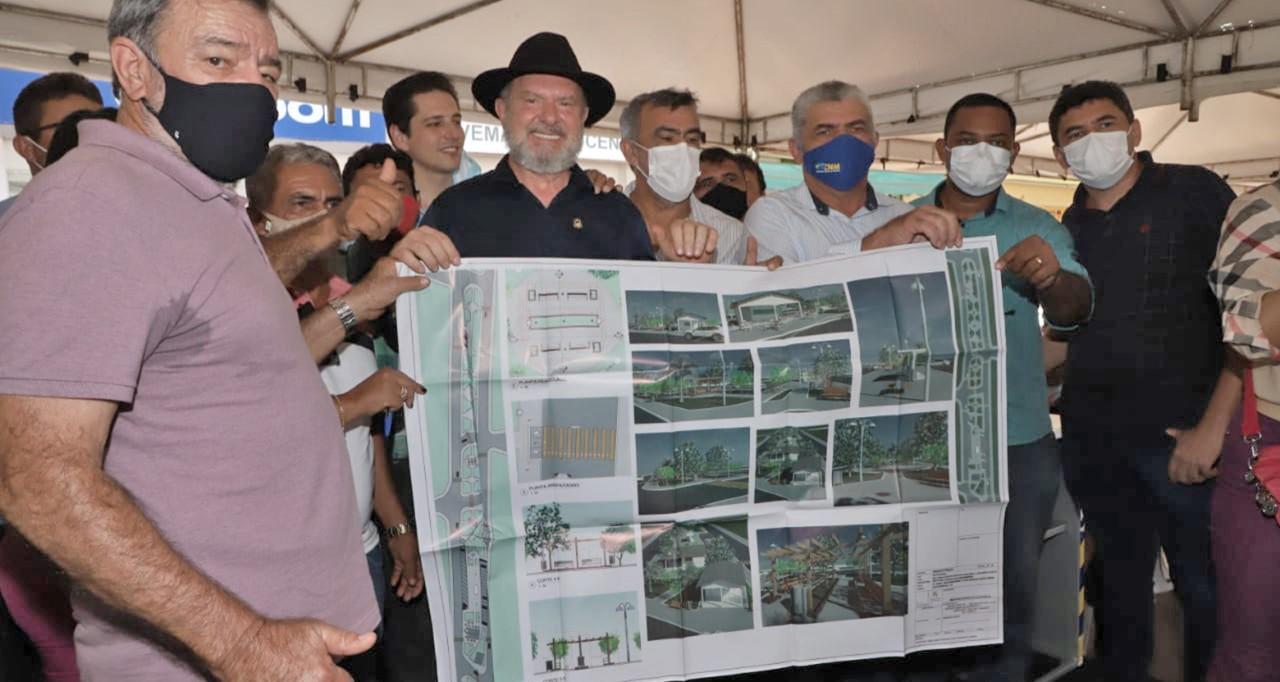 Governador autoriza reconstrução do asfalto no perímetro urbano de Augustinópolis, Araguatins, Axixá do Tocantins e Ananás
