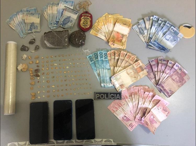 Polícia Civil fecha ponto de venda de drogas gerenciado por mulheres em Peixe