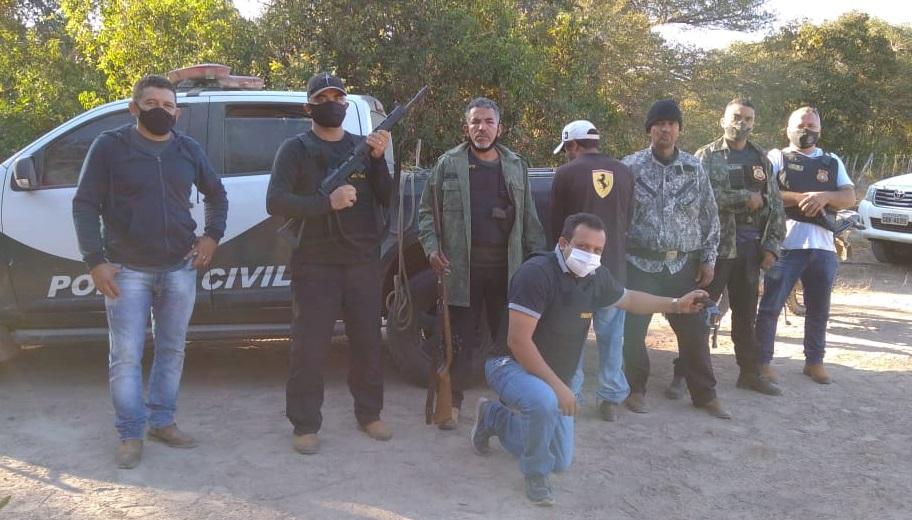 Polícia Civil prende dois homens foragidos da Justiça em Sandolândia e Formosos do Araguaia TO