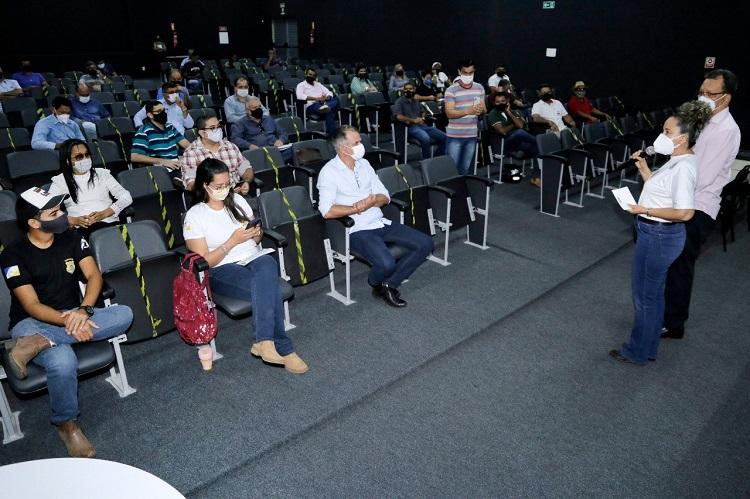 Produção de Tilápia é discutida em Gurupi