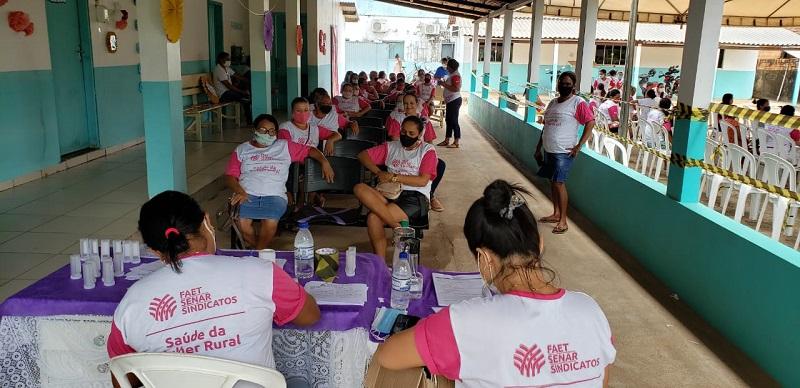 """SENAR retoma programa """"Saúde do Homem e da Mulher Rural"""" em Ananás"""