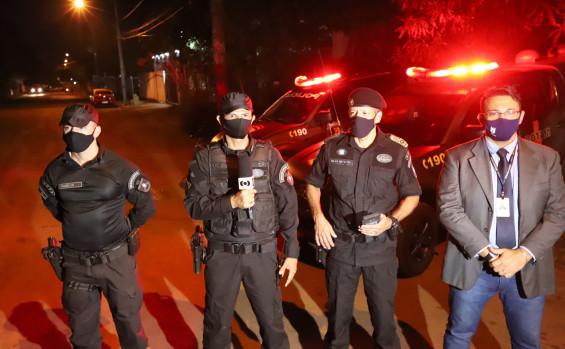 Em simulação, policiais militares do TO são treinados para atuar em situações complexas