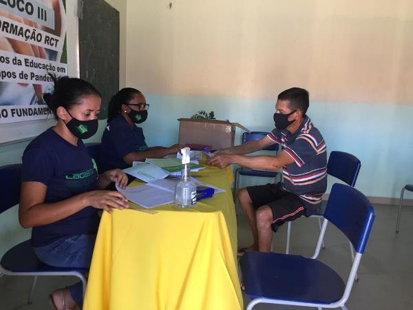 Assistência Social de Pium promove atualização cadastral de famílias no assentamento Pericatu