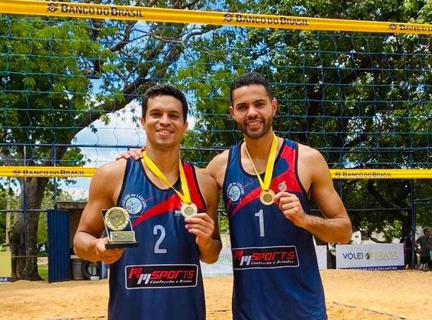 Dupla de Paraíso representa o Tocantins no Circuito Amazônia de vôlei de praia em Porto Velho/RO