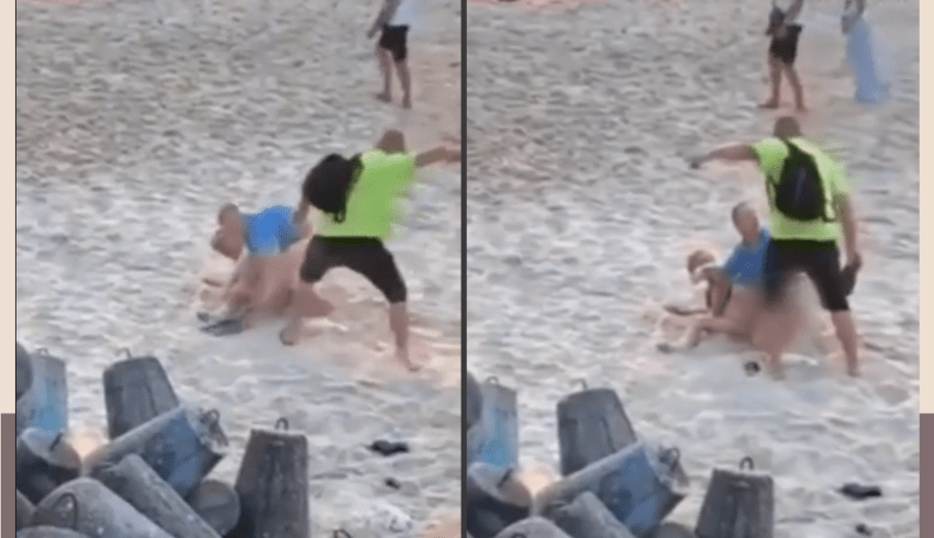 Homem interrompe casal que fazia sexo ao ar livre a chineladas