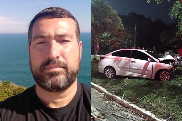 Investigador da Polícia Civil morre em acidente gravíssimo na Avenida do Turismo, em Manaus