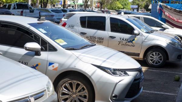 Prazo para agendamento da entrega de documentos para vistoria de táxis em Palmas termina nesta sexta, 30