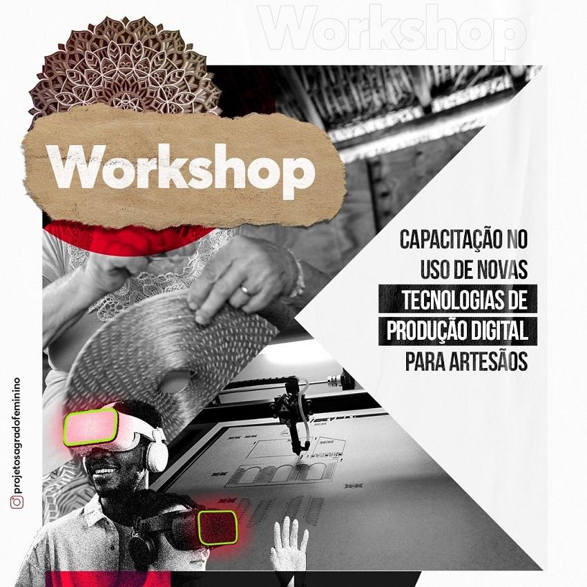 Uso de novas tecnologias para fabricação artística é tema de workshop na Capital