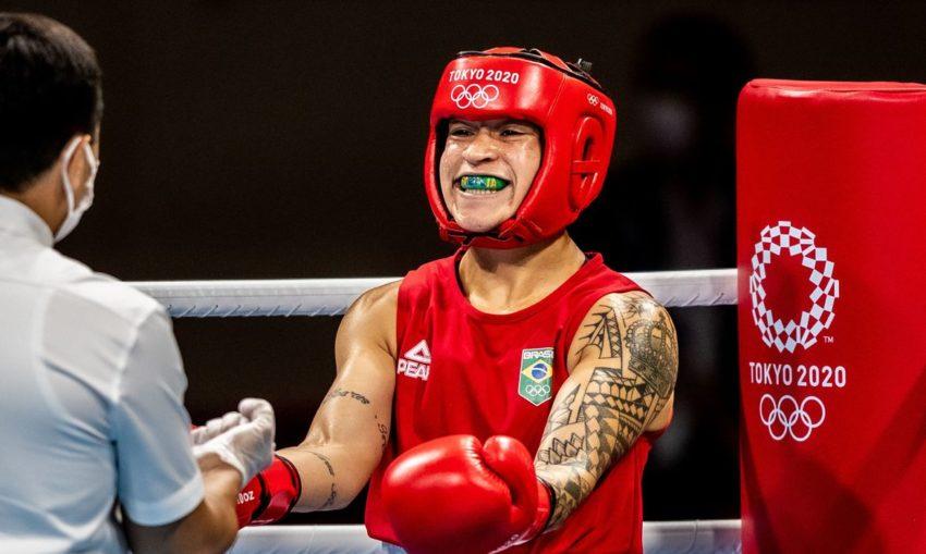 Bia Ferreira e Hebert Conceição vão lutar pelo ouro no boxe nas olimpíadas de Tóquio