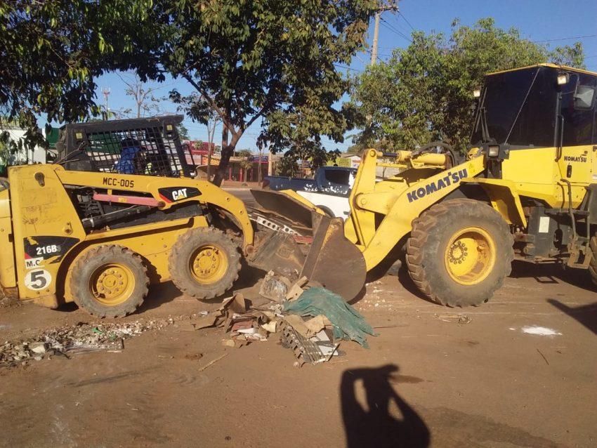 Município recolhe mais de 34 mil metros cúbicos de lixo acumulado em pontos irregulares