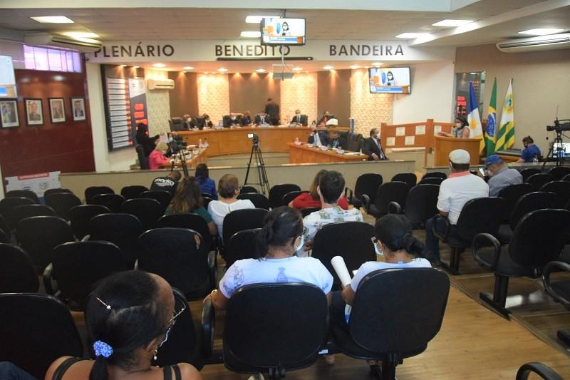 Câmara de Paraíso transmite ao vivo 34ª Sessão Ordinária