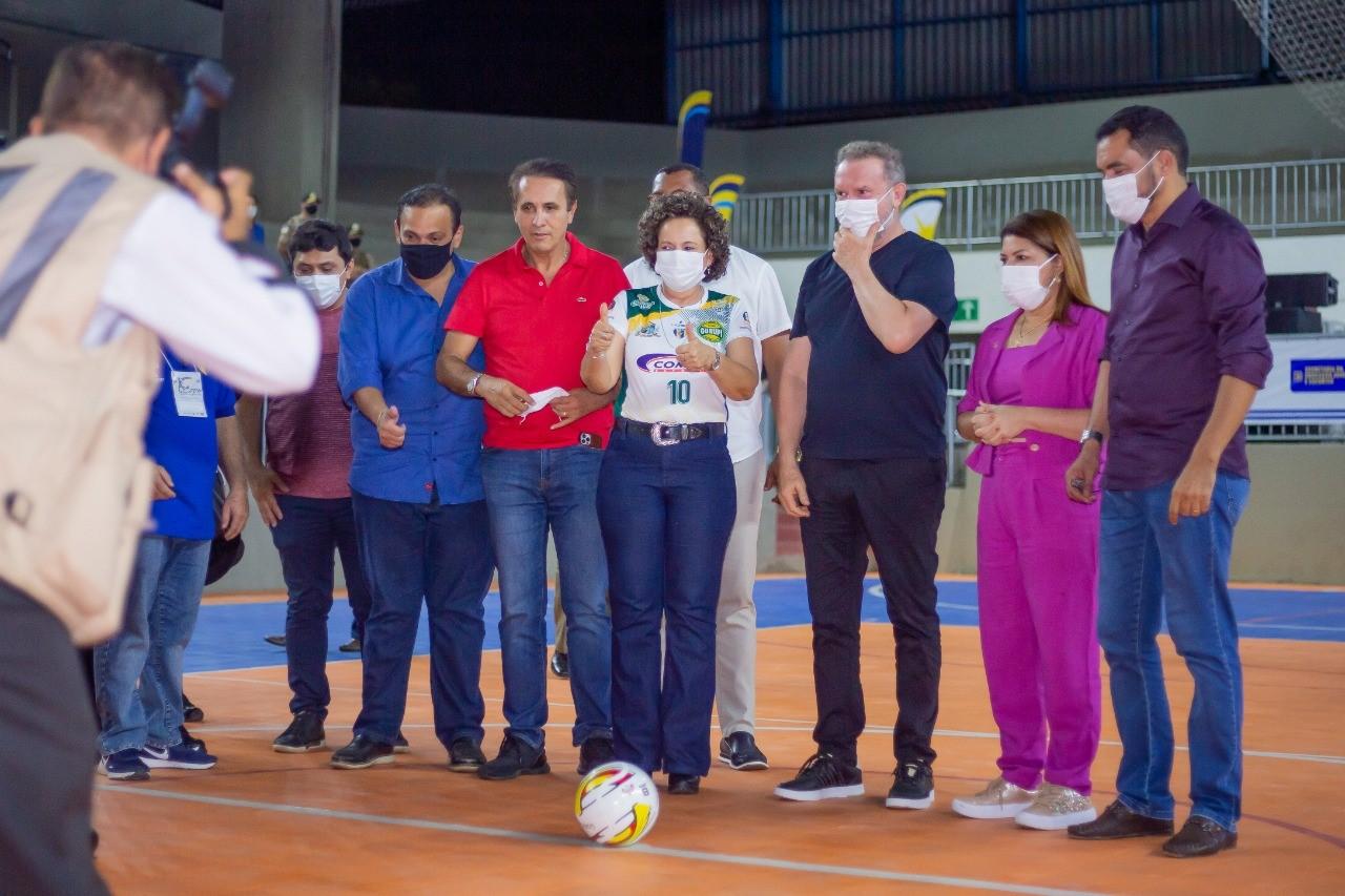 Após reforma, Ginásio de Esportes Idanizete de Paula volta a receber competições esportivas