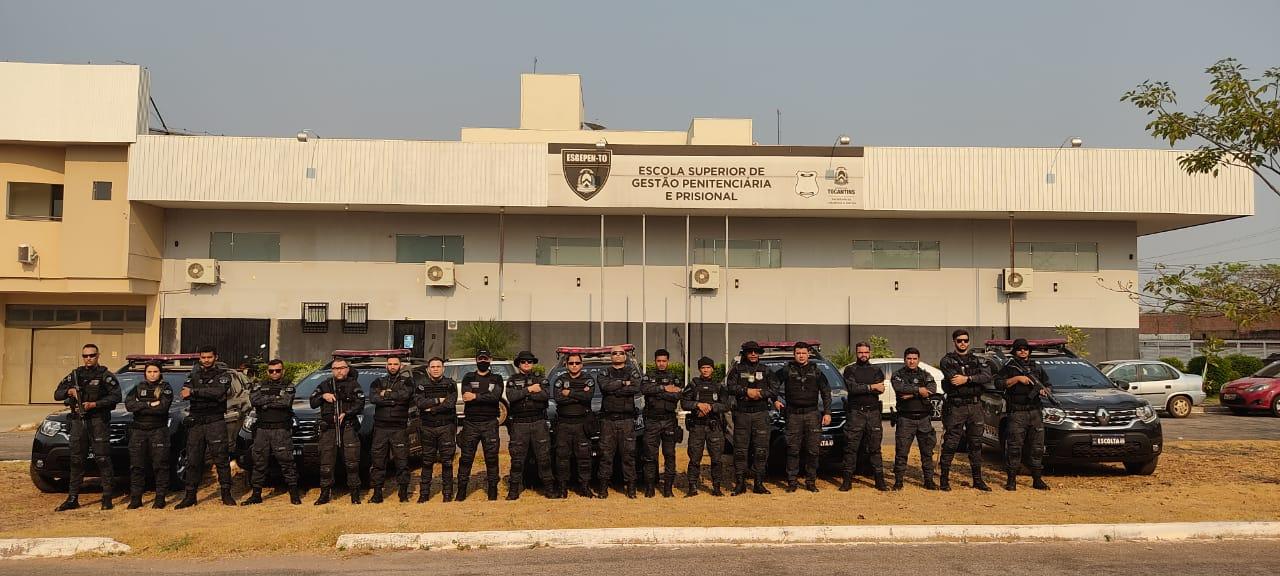 Seciju realiza Operação Aquiles para vistoriar monitorados com tornozeleira eletrônica em Palmas