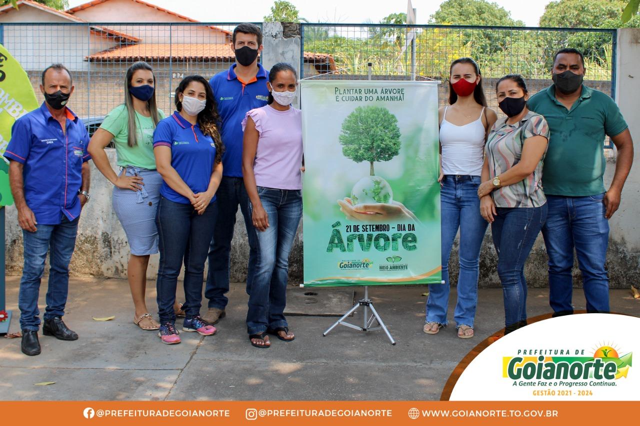Dia da Árvore: Prefeitura de Goianorte promove palestra educativa sobre preservação do meio ambiente