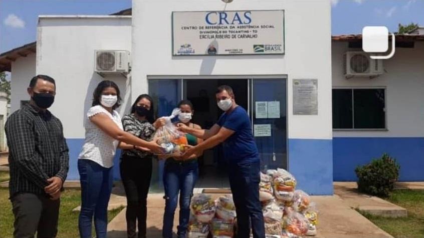 Assistência Social de Divinópolis distribui cestas básicas obtidas através de emenda do deputado Nilton Franco