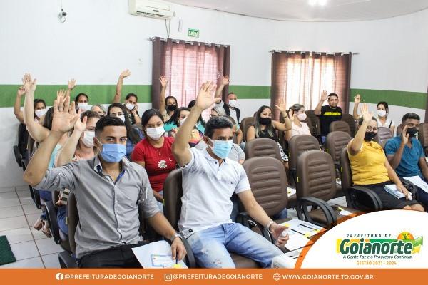 Educação de Goianorte promove reunião para debater retorno das aulas presenciais