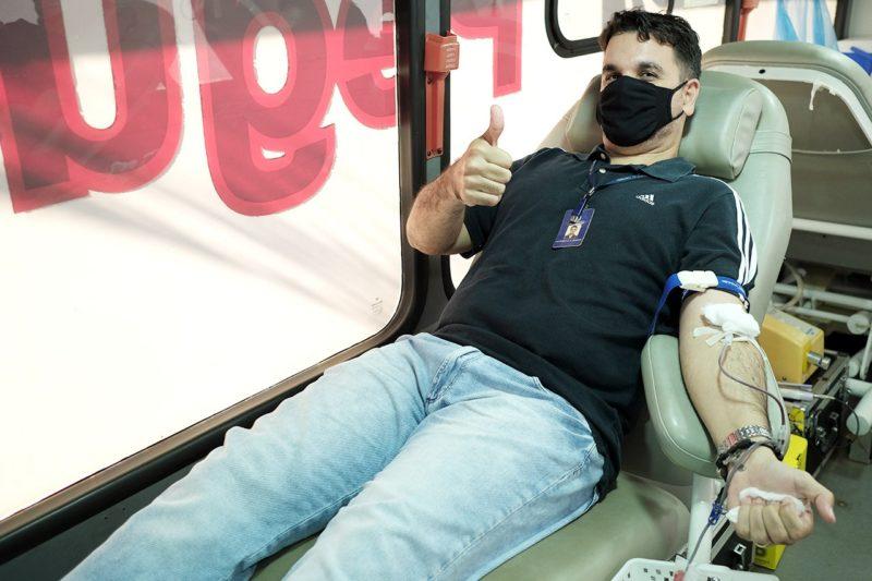 Doação de sangue no Judiciário, marca terceiro dia da programação do Setembro Amarelo