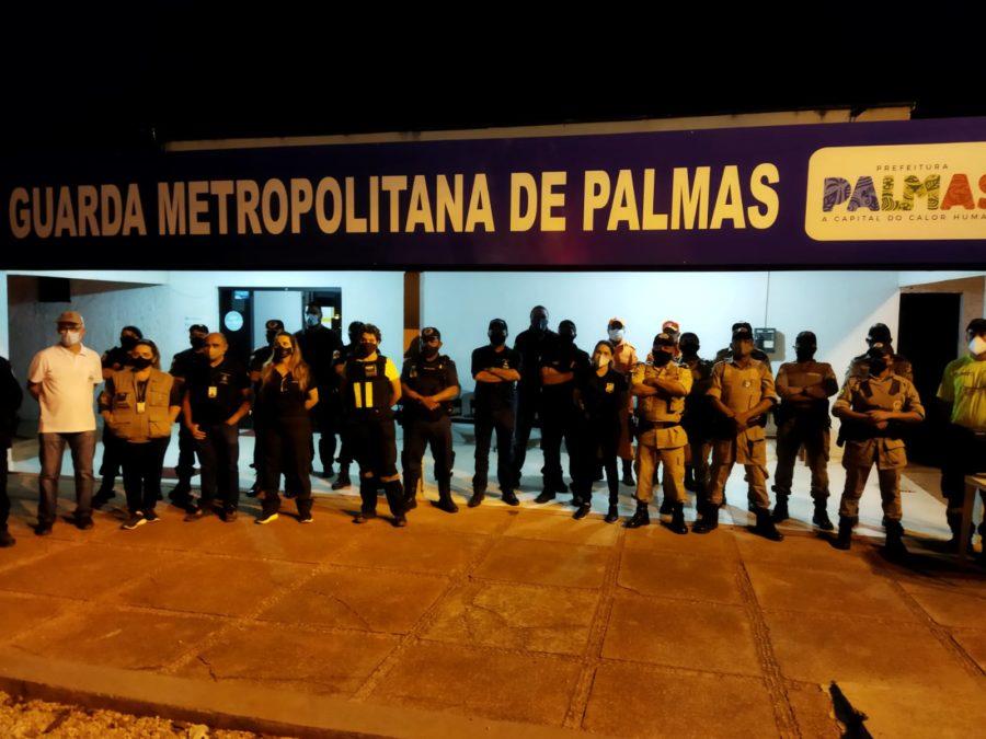 Fiscalização fecha cerco contra aglomerações e desrespeitos às medidas de segurança em Palmas