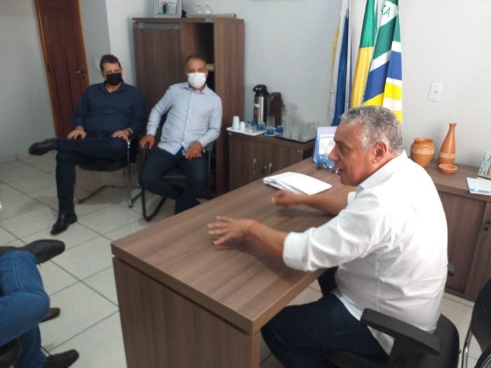 Prefeito Júnior Bandeira se reúne com presidente da ATS para discutir sobre demandas de Lajeado
