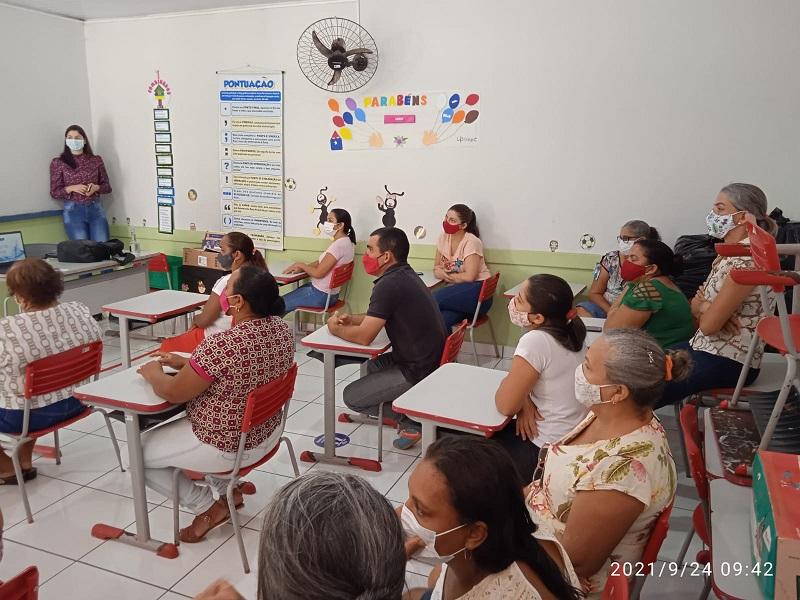 Prefeitura de Dois Irmãos-TO capacita servidores sobre manejo de resíduos sólidos e educação sanitária