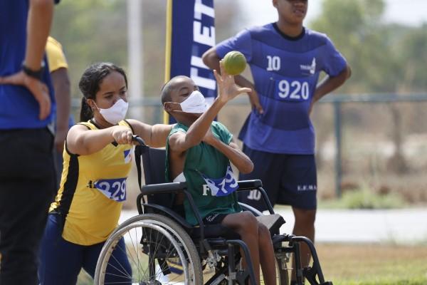 Provas de atletismo encerram etapa estadual dos Jogos Estudantis Paradesportivos do Tocantins