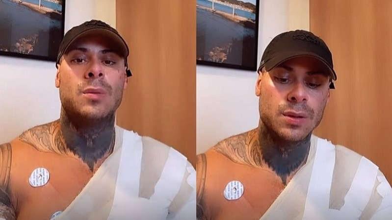 Leo Stronda sofre acidente doméstico e passa por várias cirurgias