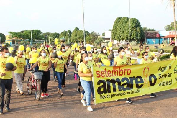 Setembro Amarelo: Prefeitura de Dois Irmãos promove caminhada de prevenção ao suicídio