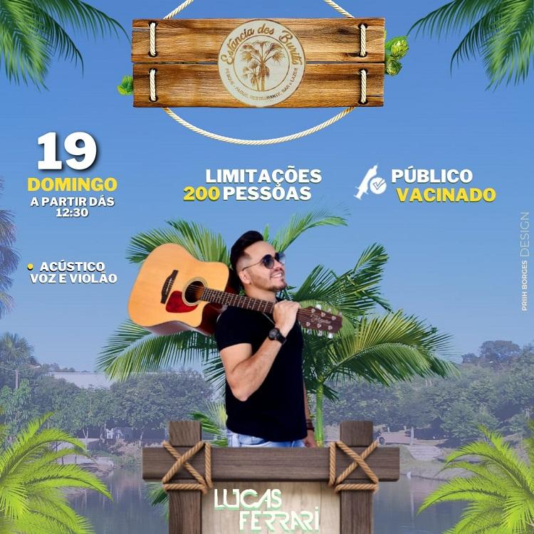 Pesque-Pague Estância dos Buritis promove evento com show ao vivo, neste domingo (19), em Paraíso-TO