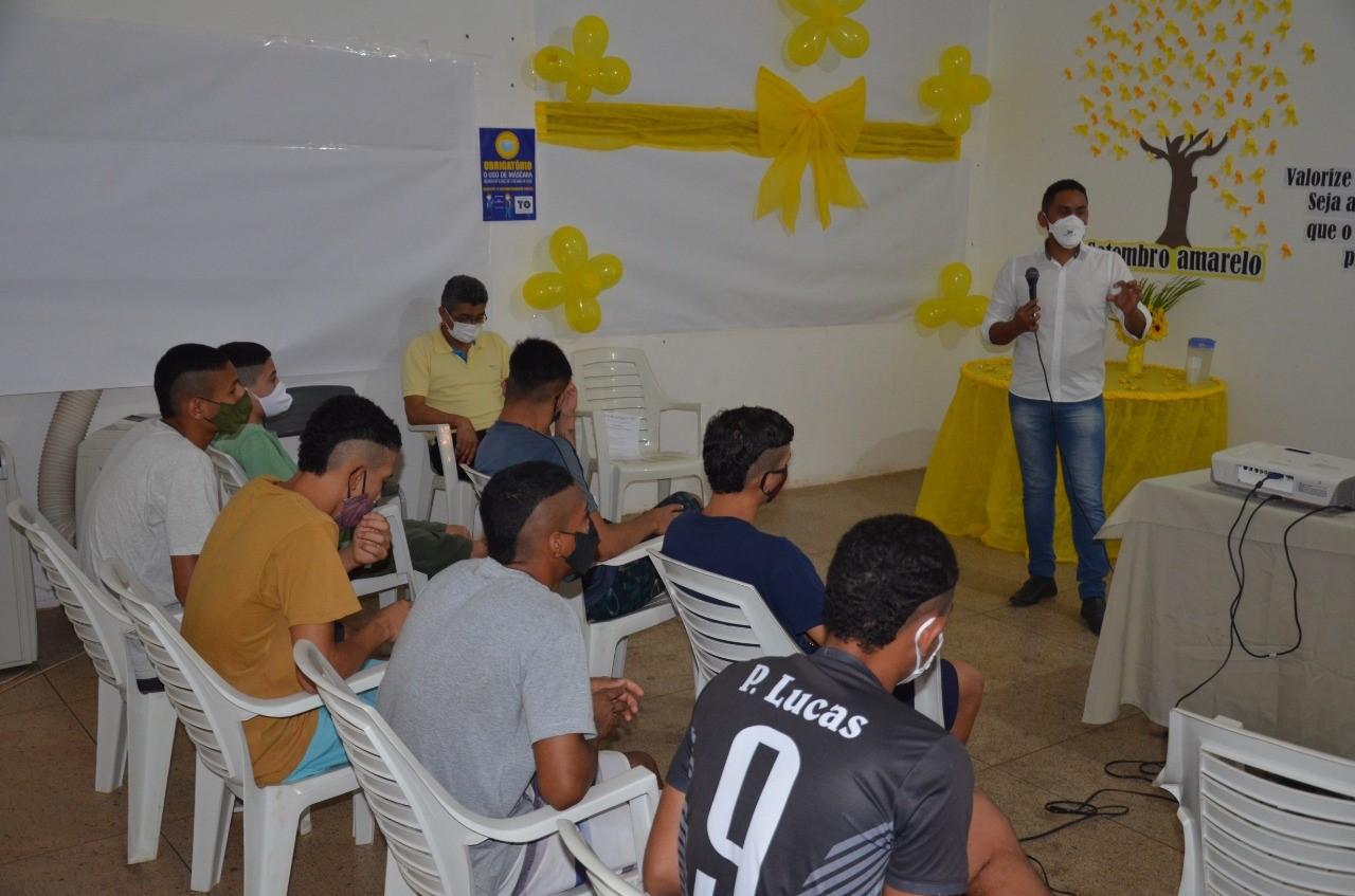 Seciju e Escola Mundo Sócio do Saber realizam série de palestras sobre prevenção ao suicídio para adolescentes do Case e do Ceip Central