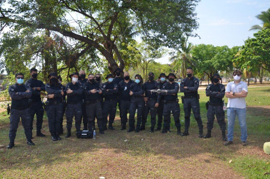 Seciju realiza curso de operação de drones para policiais penais especializados em monitoramento eletrônico de pessoas
