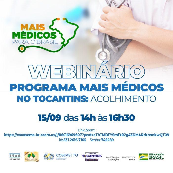 """""""Programa Mais Médicos"""" acolhe os novos profissionais no Estado do Tocantins"""
