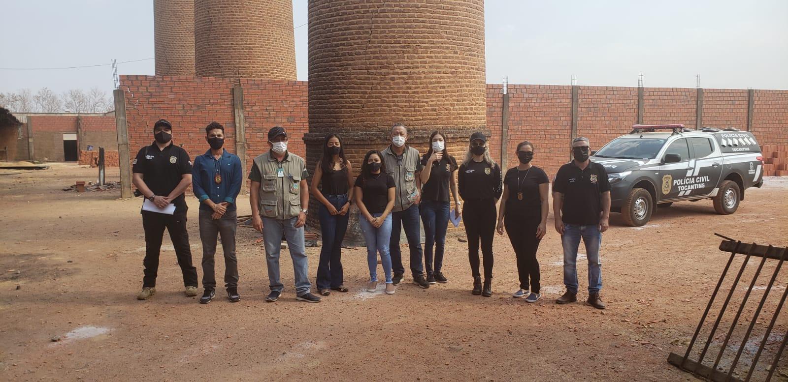 Polícia Civil incinera entorpecente apreendido em procedimentos relacionados a menores infratores em Paraíso do Tocantins