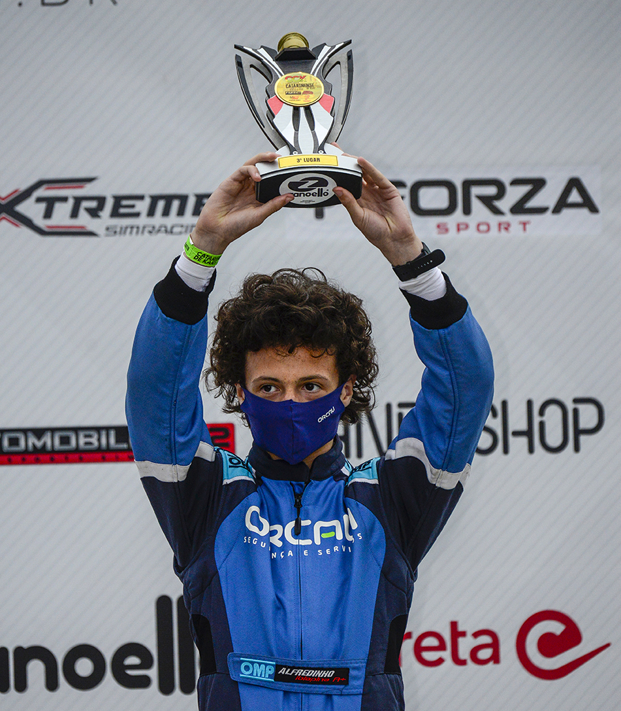 Pescador de combustível frustra a chance de título de Alfredinho Ibiapina no Catarinense de Kart