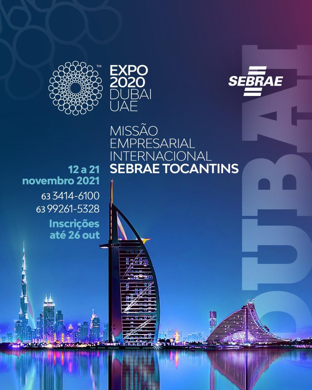 Abertas as inscrições para Missão Empresarial World Expo Dubai 2020