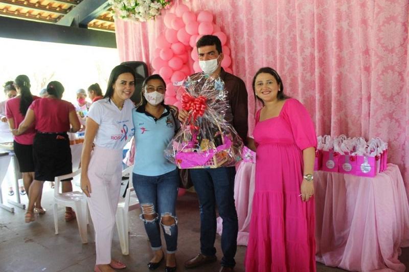 Ação de conscientização sobre o câncer de mama é realizado em Dois Irmãos-TO