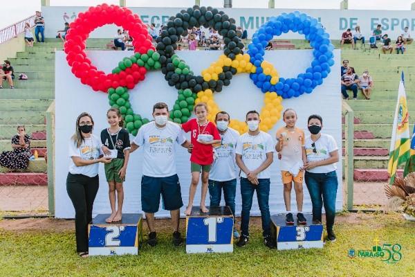 Alunos da Rede Municipal de Ensino de Paraíso participam da 1ª Olimpíada de Atletismo