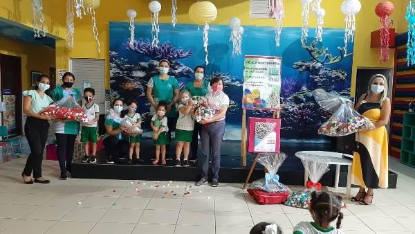 CEI-TJTO realiza entrega de materiais recicláveis para campanha de arrecadação em prol do Hospital de Amor