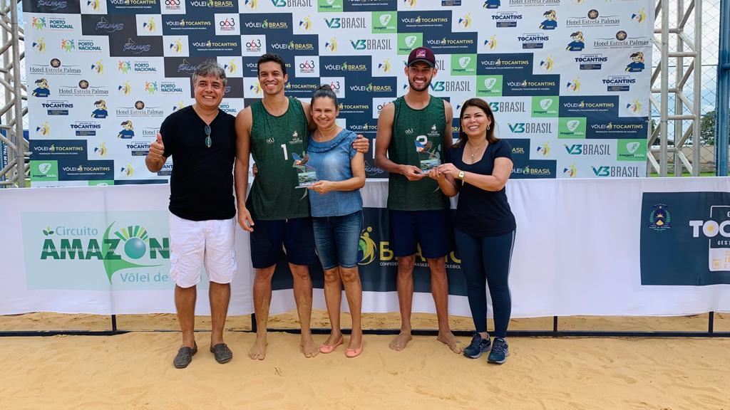 Dupla tocantinense vence última etapa do Circuito Amazônia de Vôlei de Praia 2021