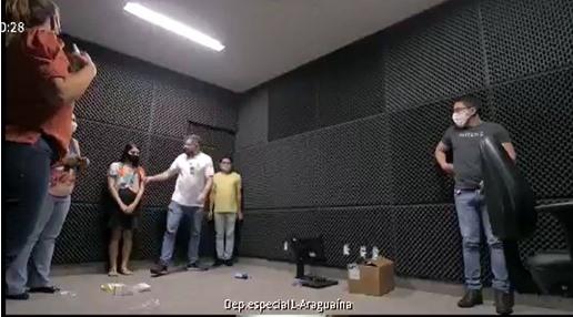 Comarca de Araguaína prepara sala para receber depoimento especial de crianças e adolescentes vítimas ou testemunhas de violência