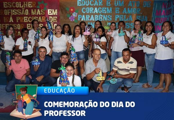 Escola Municipal Piracema, em Marianópolis, promove confraternização em comemoração ao Dia do Professor