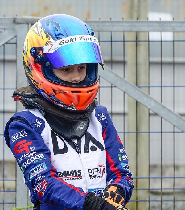 Com foco no Brasileiro de Kart, Guki Toniolo disputa a última etapa da Copa SPR Light