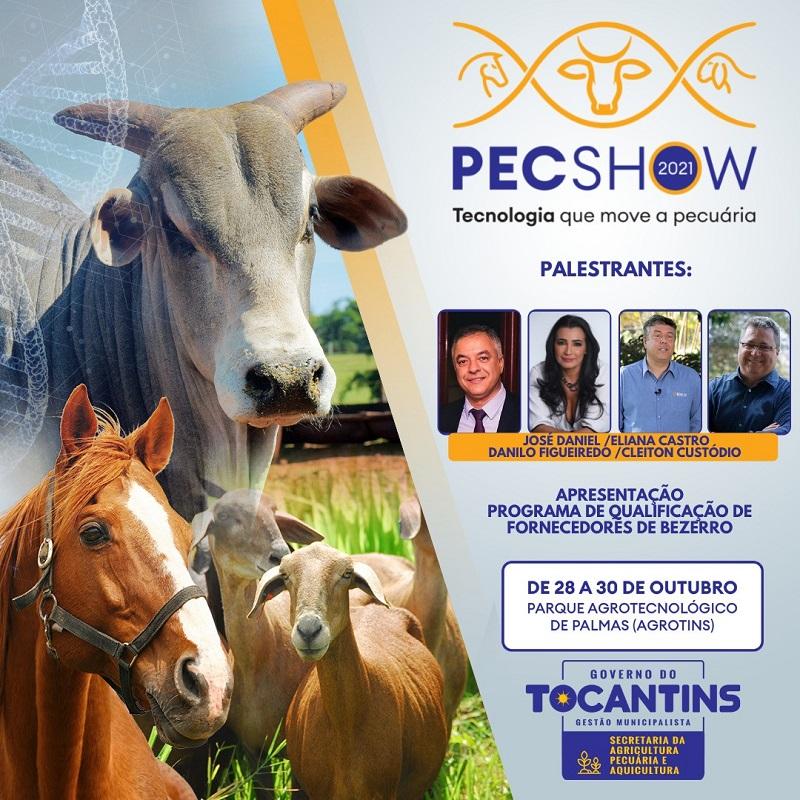 PecShow 2021 terá palestra do Sebrae