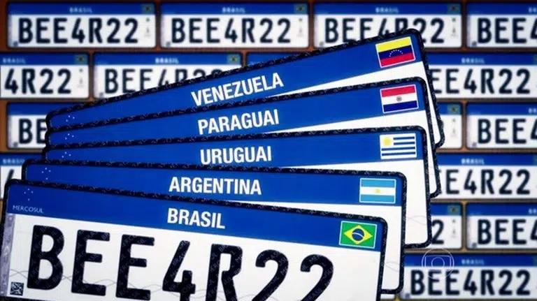 Confira o valor da placa Mercosul no Tocantins