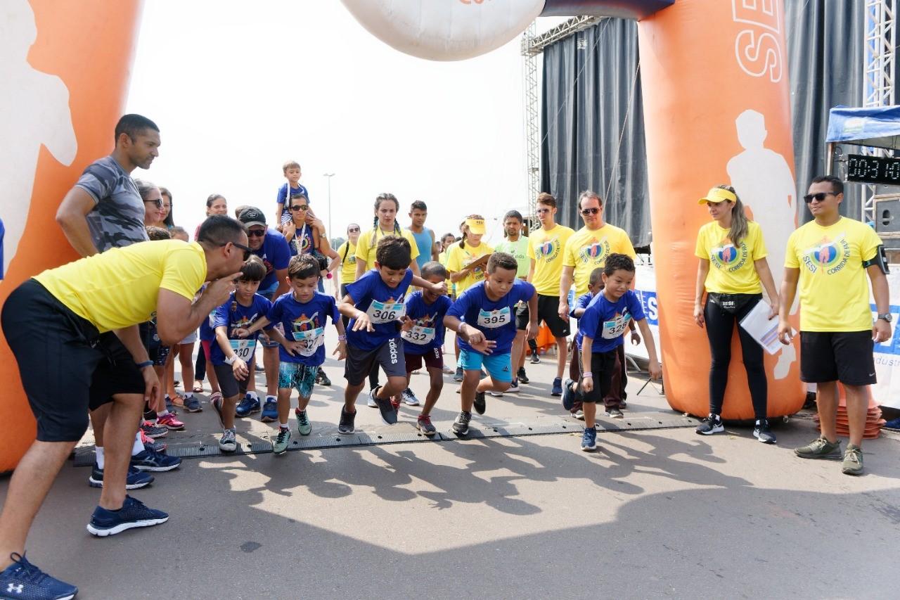 Inscrições abertas: SESI realiza Corrida da Criança no próximo dia 23/10 em Araguaína