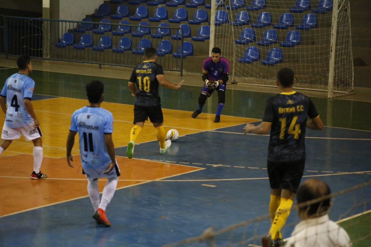 Dada a largada na primeira fase das competições da Série Ouro da Copa Governo do Tocantins de Futsal