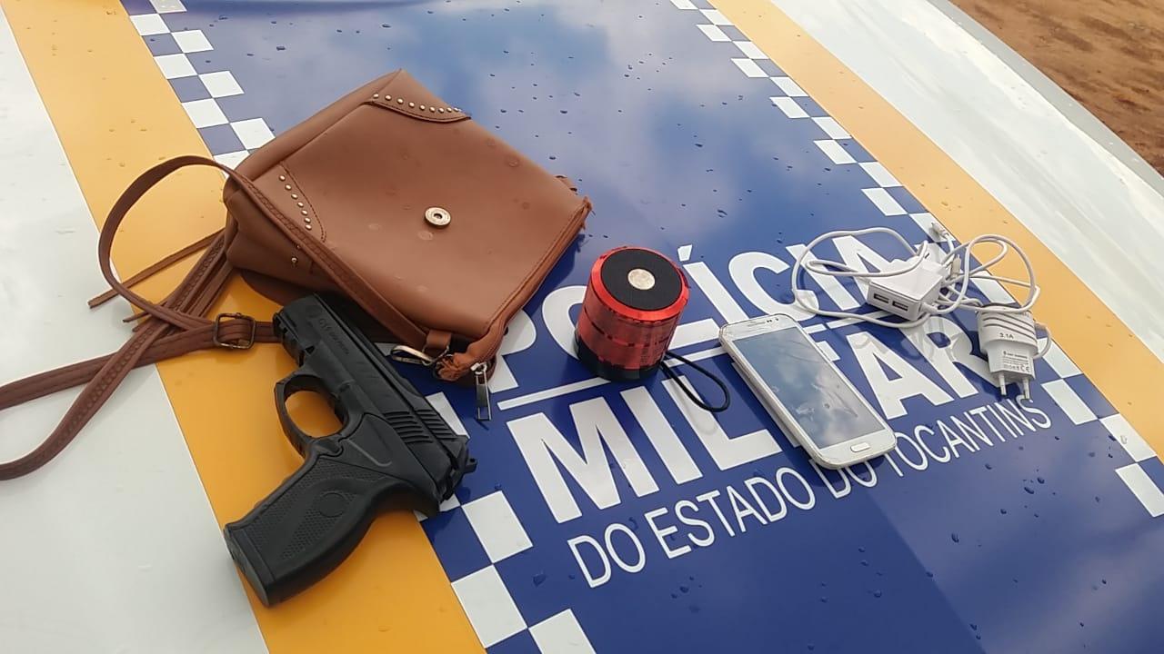 Adolescentes são apreendidos pela PM por ato infracional de roubo em Araguaína