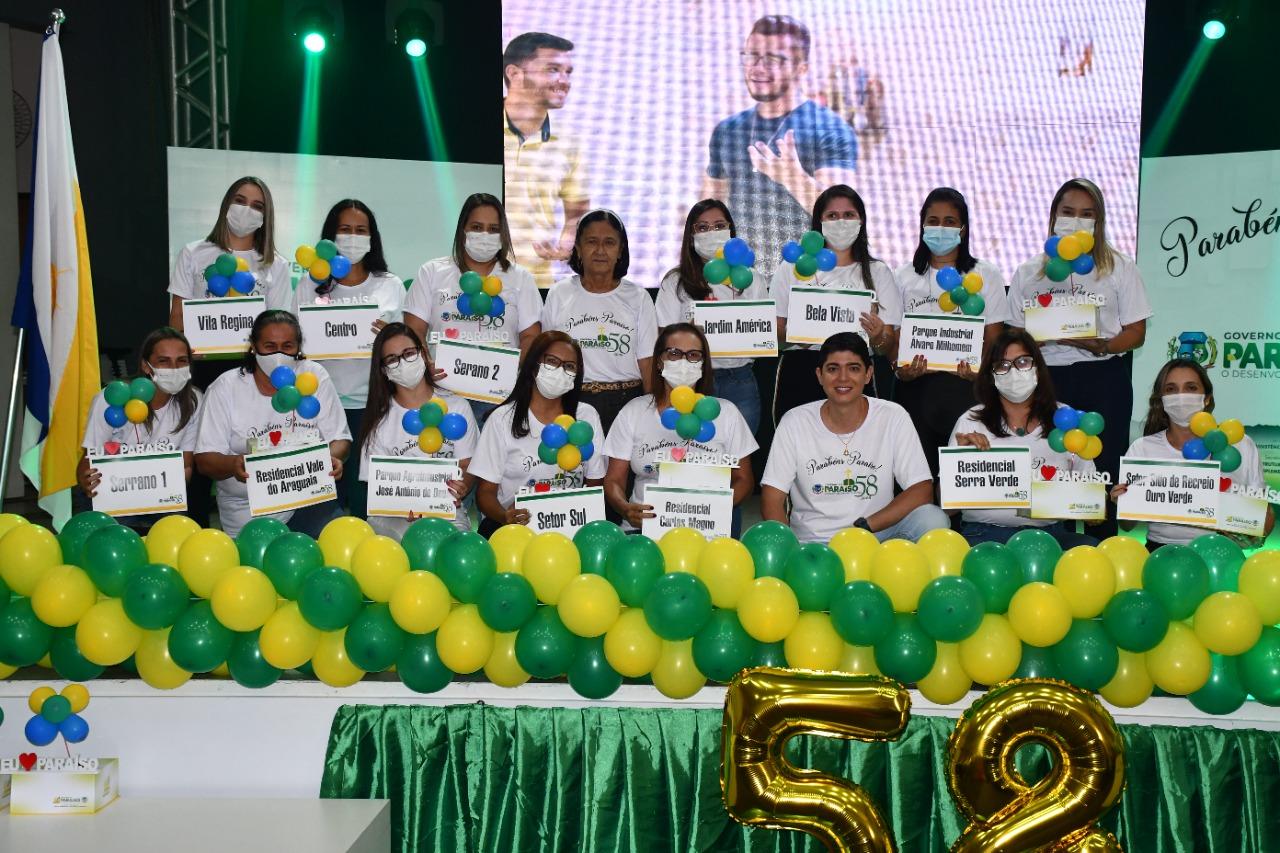 Momento celebrativo marca o aniversário de 58 anos de Paraíso
