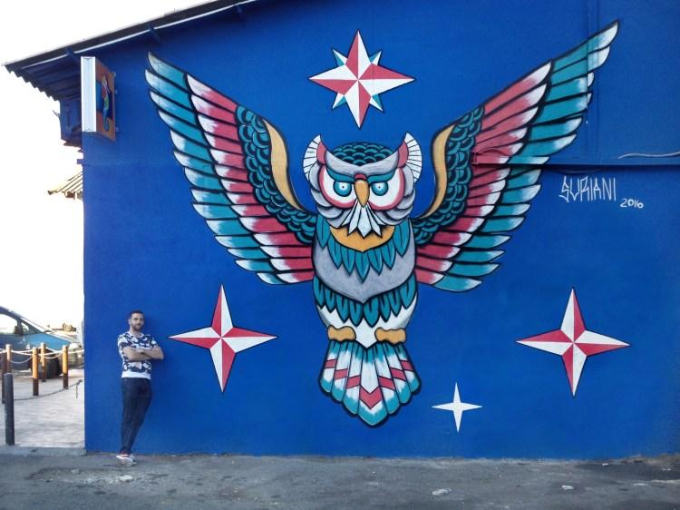 Suriani's  mural.
