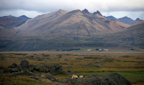 Fjord de l'Est, Islande, septembre 2012