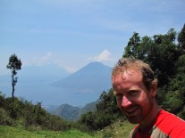 Lago Atitlan enfin avec le soleil, Guatemala